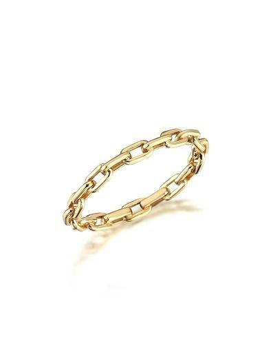 Piano Jewellery Rhythm Zincir Altın Yüzük 14 Ayar Altın